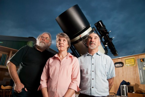 Universal joint: UNCA teams with Astronomy Club to build new observatory-attachment0