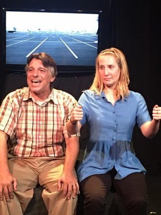 Jeff Catanse and Trinity Smith Keel in How I Learned To Drive.