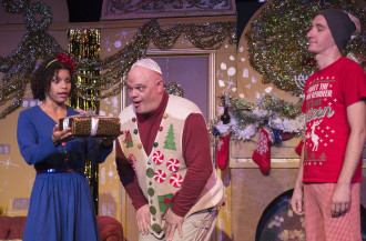 NAUGHTY BUT NICE: The 45th Annual Bernstein Family Christmas Spectacular is s a crazy holiday romp.