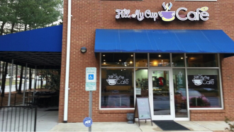 CUP OF JOE: Fill My Cup Cafe holds its grand opening Saturday, Dec. 17. The  South Asheville coffee shop and eatery features Portuguese cuisine as well as American classics.