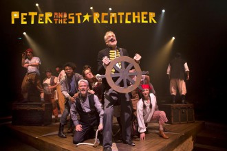 John Hall heads up the cast of Peter and The Starcatcher.