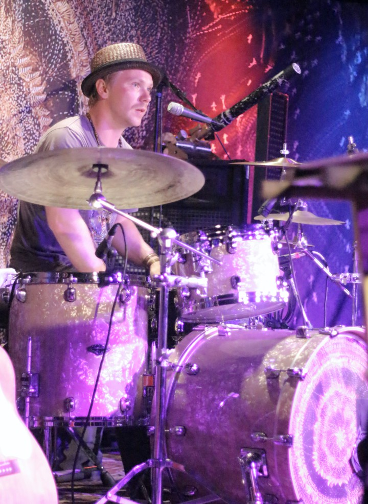 Micah Thomas (drummer for Tall Tall Trees)