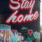 Stay Home tower in River Arts District